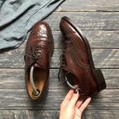 Натуральные туфли  броги Loake p-p 41