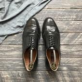 Натуральные туфли броги р-р 43
