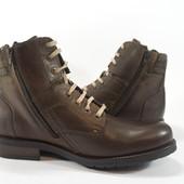 Ботинки S&G boots and shoes. Кожа.