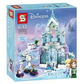Конструктор SY 868 Волшебный ледяной замок Эльзы , 784 дет.
