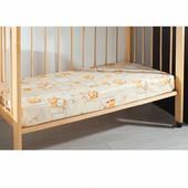 Баевая Простынь на резинке в детскую кроватку 120*60 много расцветок