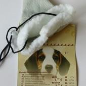Новогодняя шапочка колпак для собаки