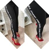 5П992 Женские лосины-брюки на велюре Moschino (42-46р)