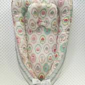 Позиционер кокон для малышей от 0 до 6 месяцев