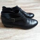 Кожаные ботиночки 5th Avenue,39 р-р