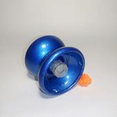 Йо йо металлическое с подшипником  цвет синий