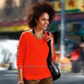яркий коралловый джемпер пуловер Тсм Чибо. XL
