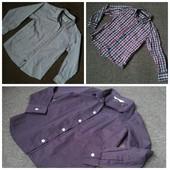 Рубашки фирменные,одна на выбор.Новые,сток.Р.116,122,128