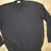 Мужской шерстяной свитер С&А размер XL