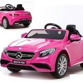 Электромобиль babycar Mercedes amg S 63 HL169 розовый