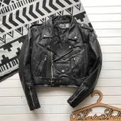 Женская кожаная куртка косуха рр М