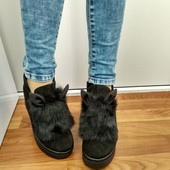 Зимние ботинки с ушками 37,40 р.