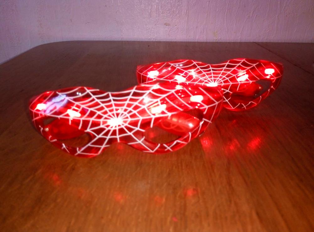 Классные светящиеся очки, Spider man фото №1