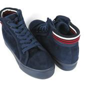 Чёрная пятница  Цена 499 грн.Стильные синие ботинки