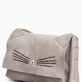 Натуральна замшева сумочка NEXT для дівчаток під замовлення