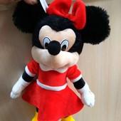 Мягкая игрушка Минни маус,35 см