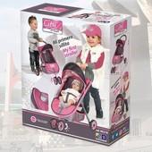 Испанская коляска Сити 90218 кукольная коляска для пупсов City Max игрушечная