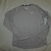 Nike Футболка реглан мужской оригинал для бега Running Dri-Fit L