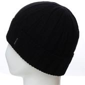 Классическая вязаная шапка с подкладом из флиса 56-58, разные цвета