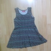 Фирменное трикотажное платье 6-7 лет