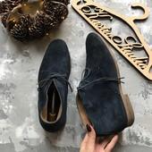 Стильные замшевые ботинки River Island,р-р 44-45