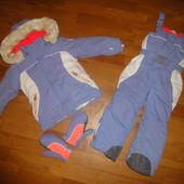 Зимний комбинезон Chicco 110 р 5 лет на девочку, зимовий, комплект, костюм, дівчинку, комбінезон