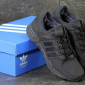 Зимние кроссовки Adidas Equipment dark blue, нубук