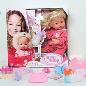 Кукла-пупс 30700A1, 30700A23 Baby Toby интерактивный с аксессуарами
