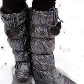 Дутики женские Аляска А 3 серые