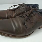 Классические мужские фирменные туфли Dune размер 46. Длина по стельке 31 см.
