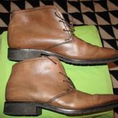 Ботинки мужские,кожаные,р.8,5(стелька-29,5см).Van Lier (Ван Лиер).