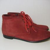 Деми ботинки 38р 25см флисовая подкладка
