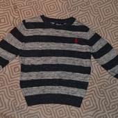 свитер Rebel мальчику рост 86-92 см на 2 года Англия хлопок