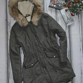 Демисезонная куртка  - парка BHS р 16 (XL)
