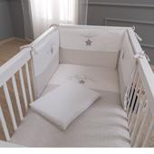 Комплект постельного белья Big Dream (7 предмета) Funna Baby 9371 Турция бежевый 12126039