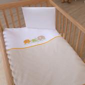 Набор постельного белья Little Family (3 предмета) Funna Baby 9391 Турция бело-бежевый 12126050