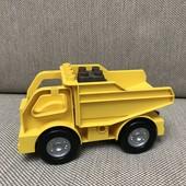 Lego duplo грузовик самосвал машина + камень в подарок