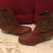Ботинки із натуральної шкіри,від San Marina,розмір 38,стелька 25