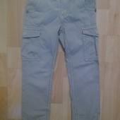 Фирменные джинсы брюки 5-6 лет