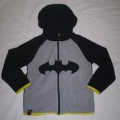 """флисовая кофта флиска  Бэтмен  """" HM """" 4-6 лет 110-116 см"""