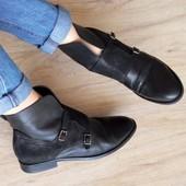 Кожа,Замша/Франция san marina Оригинал ботинки,сапоги 41р/27,5см