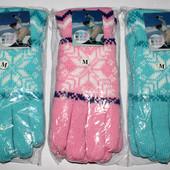 Зимные женские лыжные перчатки, утепленные флисовой подкладкой, в двух цветах!