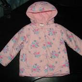 куртка на флисе Baby 1.5-2 года состояние отличное