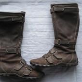 Timderland (38, 24,5 см) кожаные сапожки