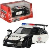 Модель машина Porsche 911gt3 rs  Police полиция kinsmart kt5352wp металлическая инерционная машина