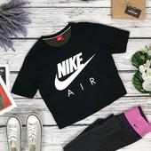 Фирменный спортивный топ укороченной длины Nike (серия Air)  BD4748