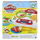 Play Doh Kitchen Creations Sizzlin' Stovetop весёлая кухонная плита