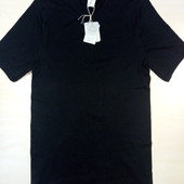 Черная футболка размер XL 8-22N