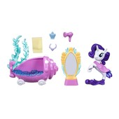 Подводный спа салон Рарити My little pony Rarity пони русалка