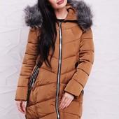 Женская куртка теплая 42-48